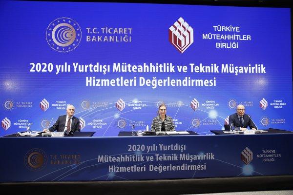 Türk müteahhitler yurt dışında hız kesmedi
