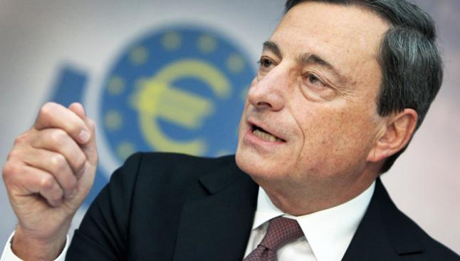 Draghi'den değerli euro uyarısı