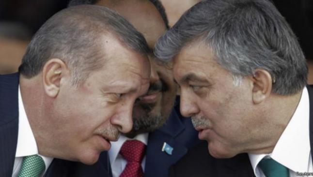 Erdoğan, Gül'le görüştü