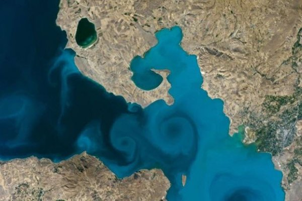NASA fotoğraf yarışmasını Van Gölü kazandı