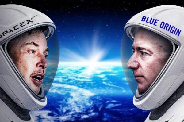 Milyarderler şimdi de rekabeti uzaya taşıyor