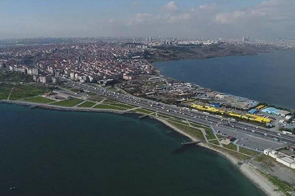 Kanal İstanbul'un bire bir ölçeğinde resmi ilk kez paylaşıldı