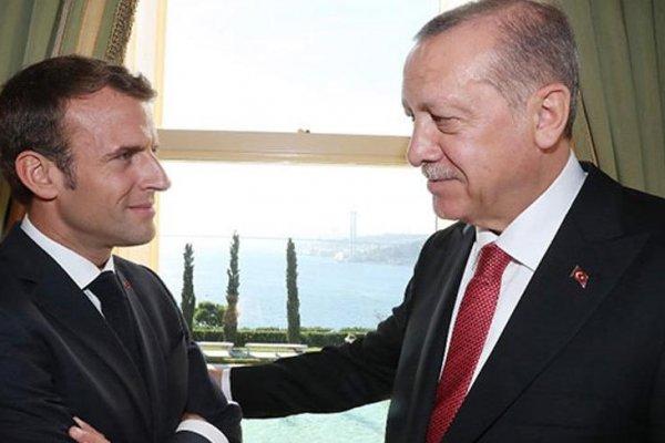 Fransa Cumhurbaşkanı Macron'dan Erdoğan mesajı