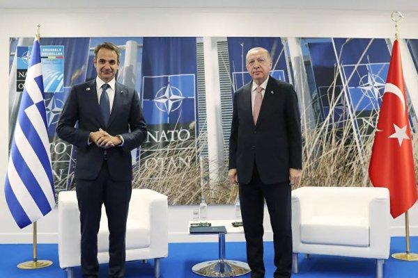 Cumhurbaşkanı Erdoğan Yunanistan Başbakanı ile buluştu