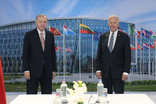 Biden: Erdoğan ile pozitif ve verimli bir toplantı yaptık