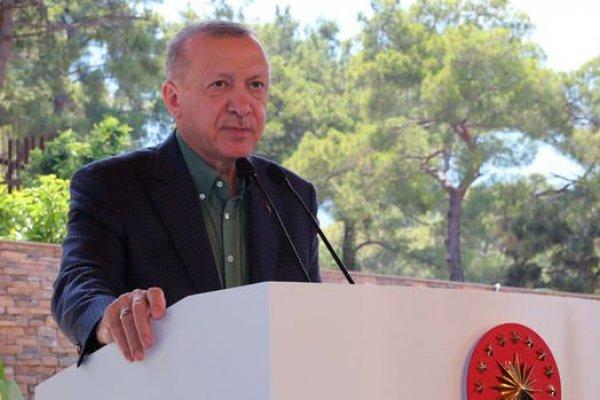 Cumhurbaşkanı Erdoğan'dan turizmde KDV desteği açıklaması