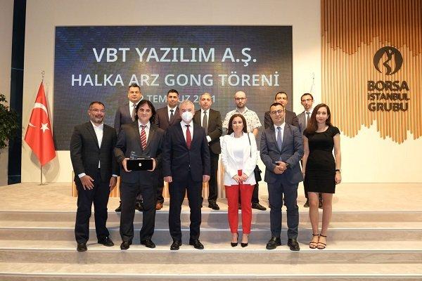 Borsa İstanbul'da gong VBT Yazılım için çaldı