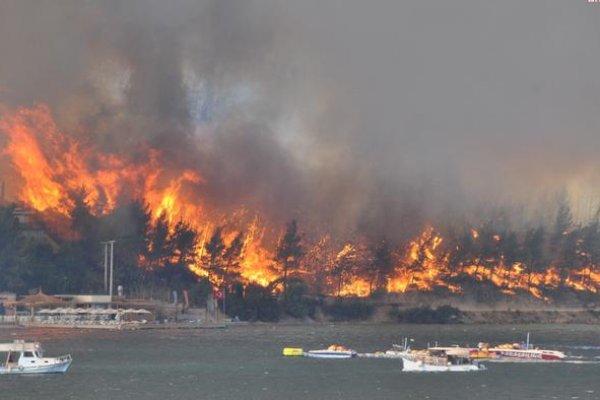 98 orman yangınının 88'i kontrol altında