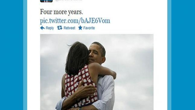 Obama ilk tweet'ini attı