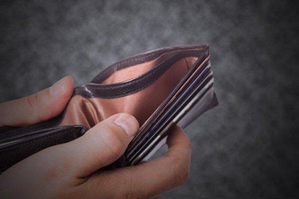 Dar gelirli geçimini kredi ile döndürdü