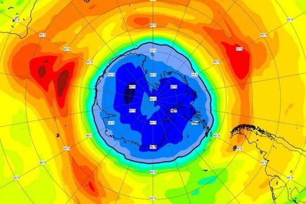 Ozon tabakasındaki delik Antartika'dan daha büyük