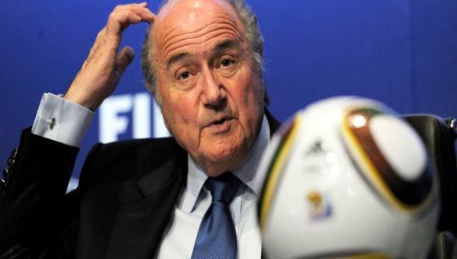 Soruşturma Blatter'a uzandı