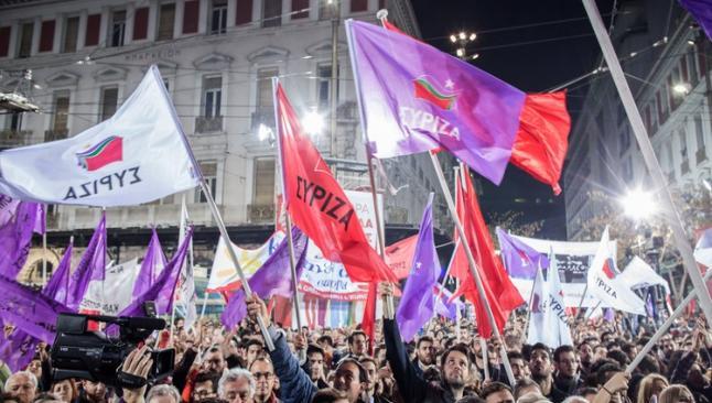 Syriza sadece 1 puan önde