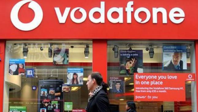 Vodafone'un gelirlerinde rekor artış
