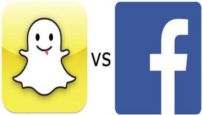 Snapchat'ten Facebook'a 3 milyar dolarlık red