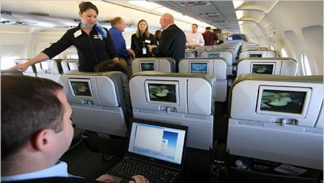 Uçakta internete izin geliyor
