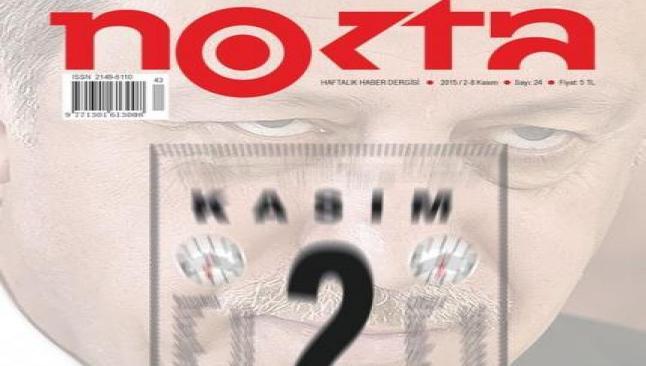 Nokta dergisinin yönetcilerine gözaltı
