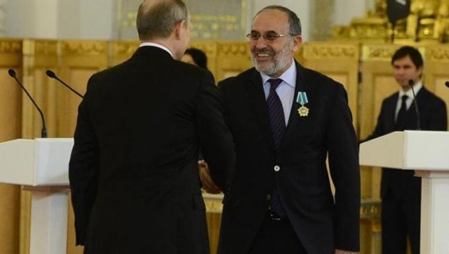 Putin'den eski AKP'li vekile devlet nişanı