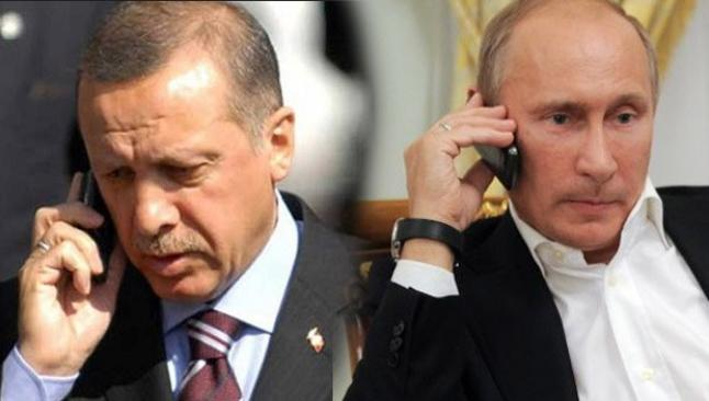 Erdoğan, Putin'den görüşme istedi