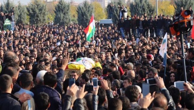 Tahir Elçi Diyarbakır'da defnedildi