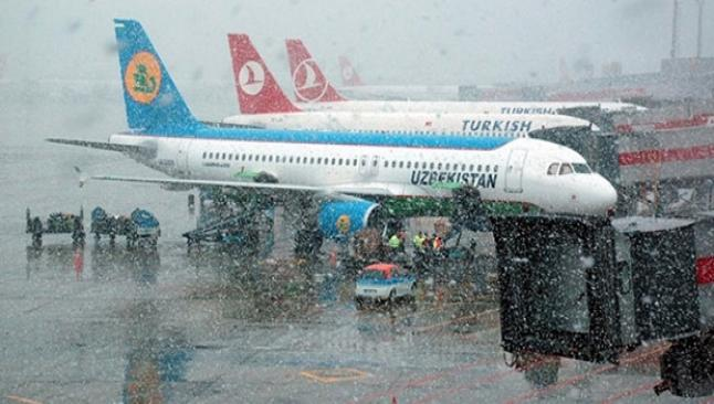 İstanbul'dan 81 uçak seferi iptal