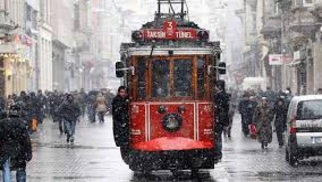 İstanbul'da 25 cm kar uyarısı