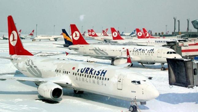 İstanbul'dan 175 uçak seferi iptal