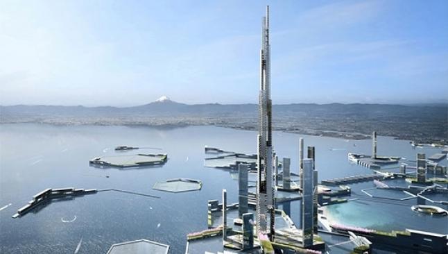 Japonya'da 500 bin kişilik bina yapılıyor
