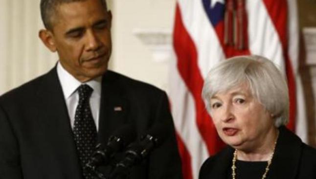 Yellen, Obama'yla görüştü