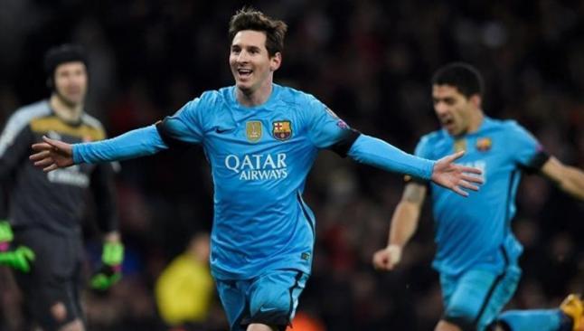 En çok kazanan futbolcu yine Messi