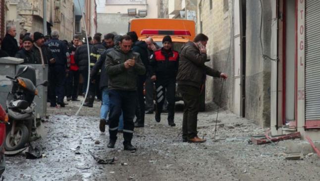 Kilis'te bankalar kapandı, halk kenti terkediyor