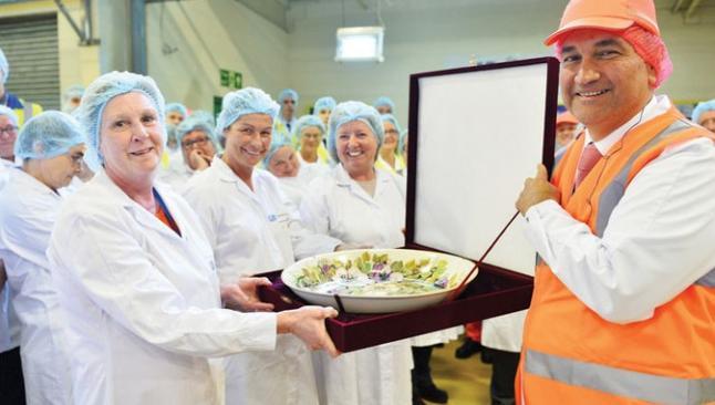 Ülker İngiltere'deki fabrikasını açtı