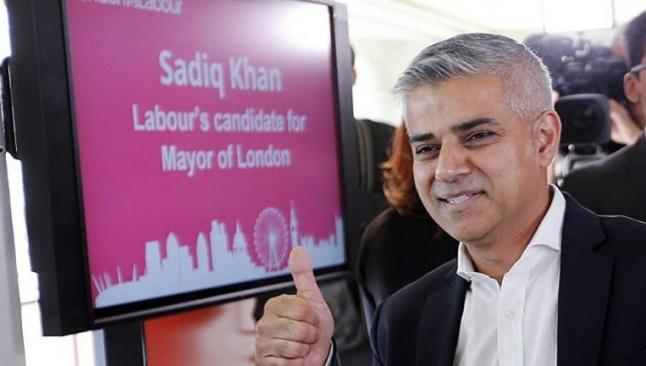 Londra'ya Müslüman belediye başkanı