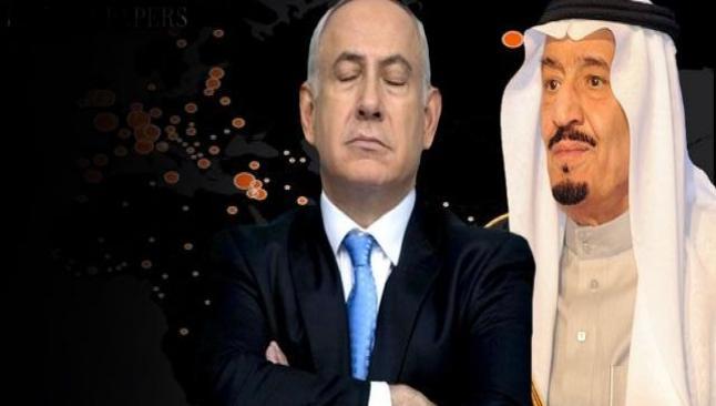 Netanyahu'yu Kral Salman finanse etmiş