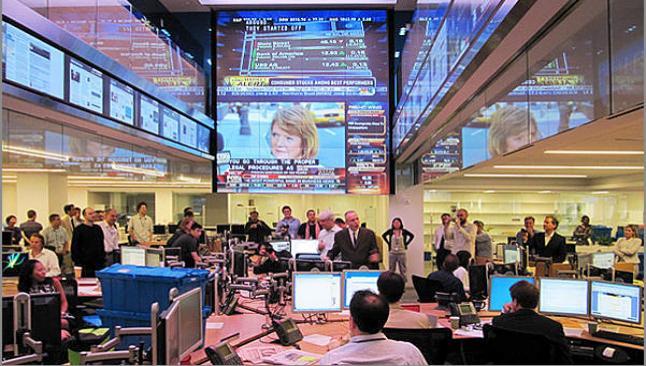 Dow yükselişine ara verdi