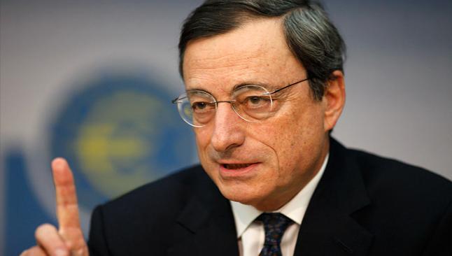 Draghi: Güçlü euro, gevşemeyi tetikleyebilir
