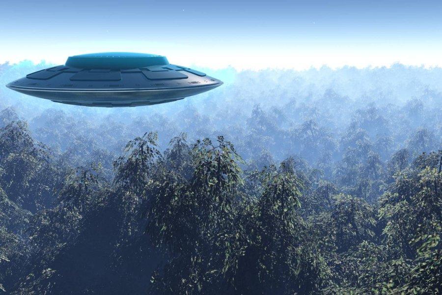 THY uçağının üstünden UFO geçti