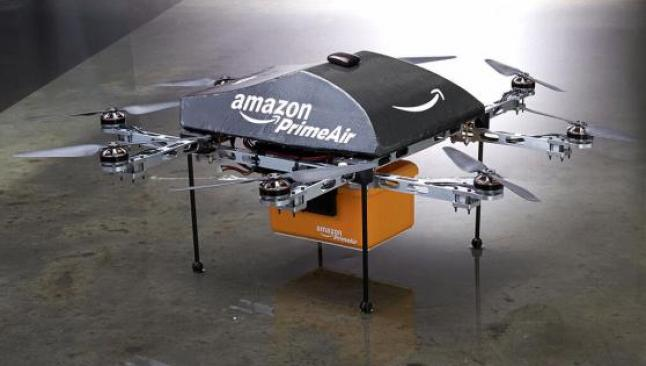 Amazon, kolileri 'Amazon Prime Air' ile uçuracak