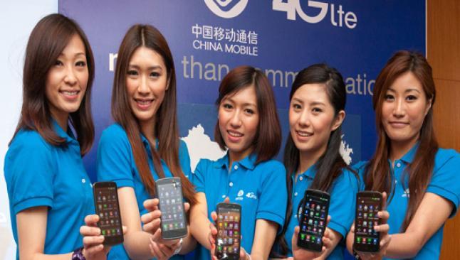 Çin 4G'ye geçiyor