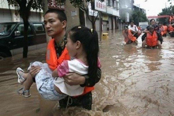 Çin'de yağışlar  ölümlere yol açtı