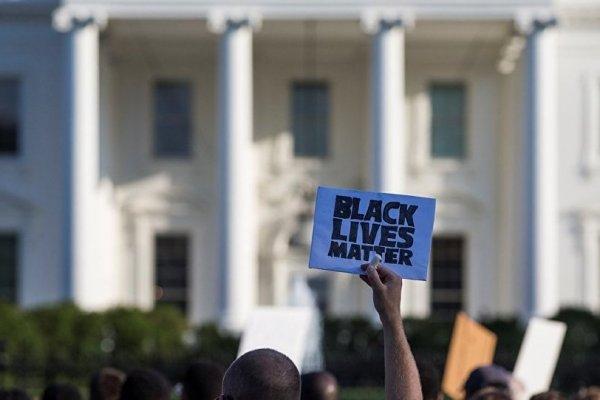 Beyaz Saray önünde büyük protesto