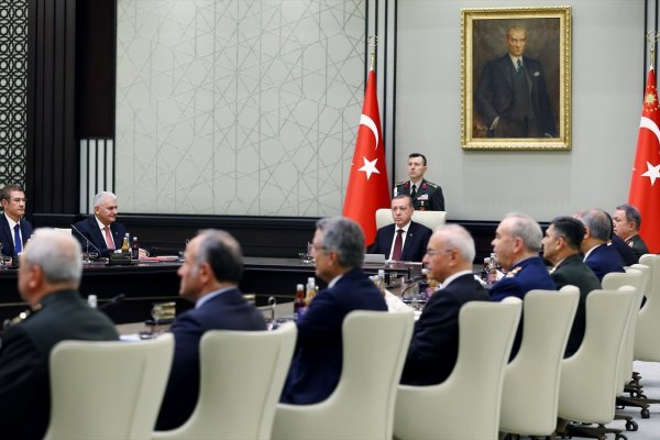 Erdoğan Ankara'da, MGK toplanıyor