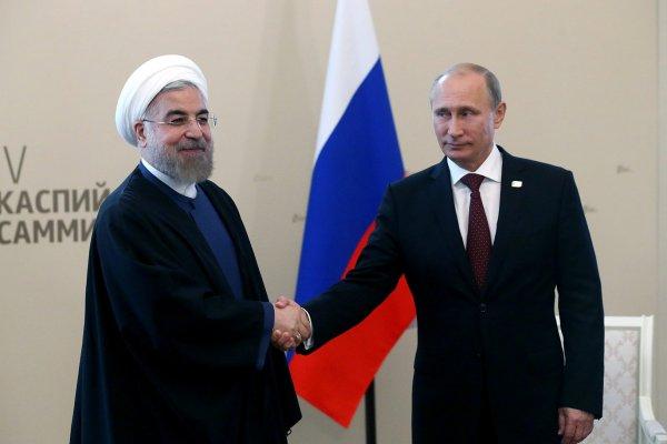 Putin ve Ruhani görüşmesinde gündem Erdoğan