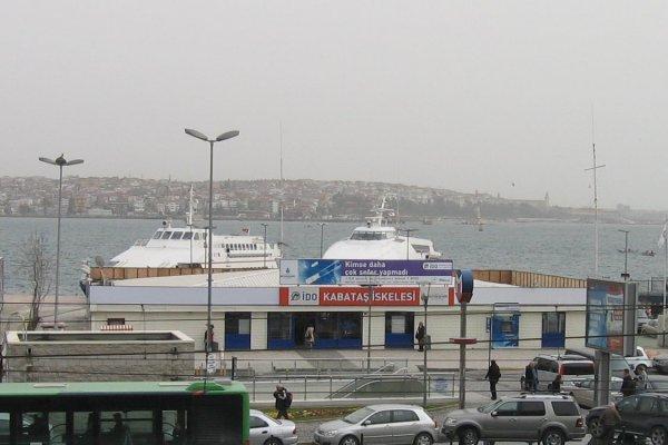 Kabataş iskelesi kapanıyor