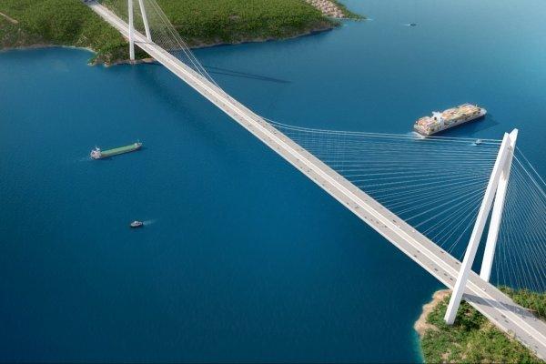 Yeni köprüden ücretli geçişler başladı