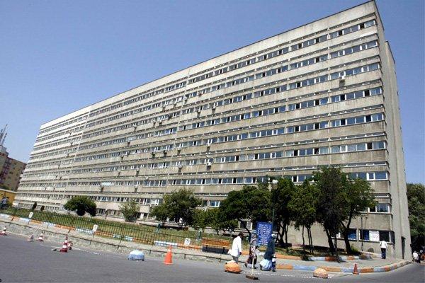 Okmeydanı Hastanesi'nde çökme
