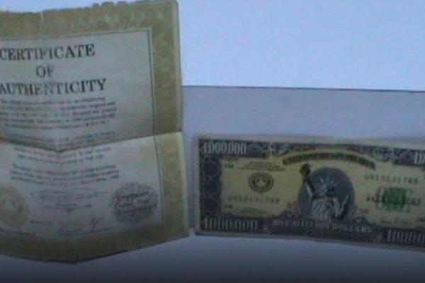 İstanbul'da 1 milyon dolarlık banknot