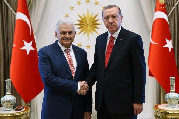 Erdoğan ve Yıldırım'dan sürpriz görüşme
