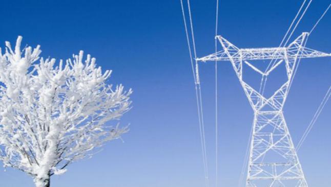 Elektrikler fırtına nedeniyle kesilmiş