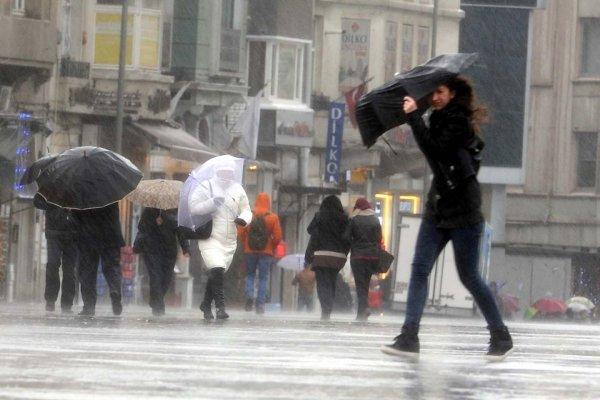 Meteoroloji'den birçok şehir için kuvvetli yağış uyarısı